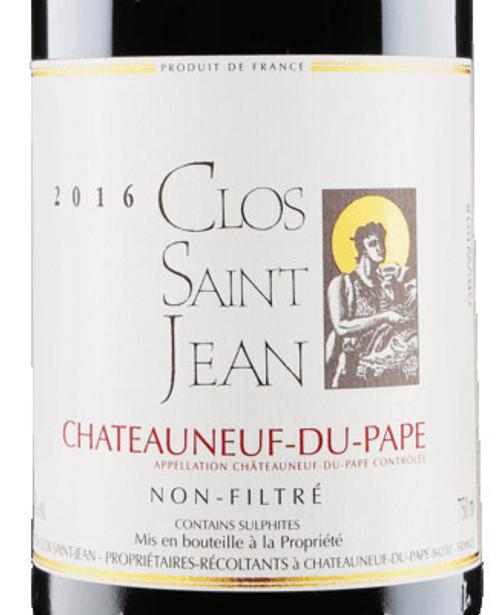 Clos Saint-Jean Châteauneuf-du-Pape 2016