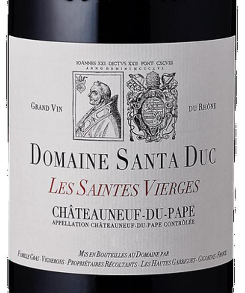 Santa Duc Châteauneuf-du-Pape Les Saintes Vierges 2016