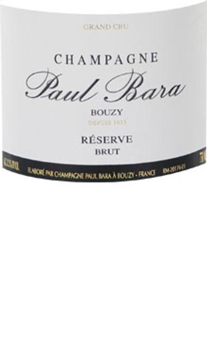 Paul Bara Brut Champagne Bouzy Réserve NV