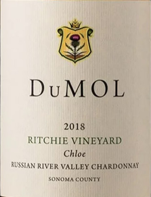 DuMol Chardonnay Russian River Valley Ritchie Vineyard Chloe 2018