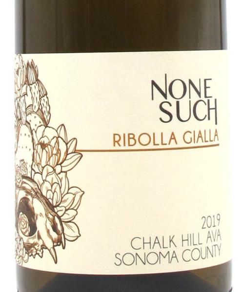 NoneSuch Ribolla Gialla Sonoma Chalk Hill 2019