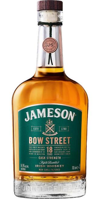 Jameson Irish Whiskey Bow Street 18 Year Old