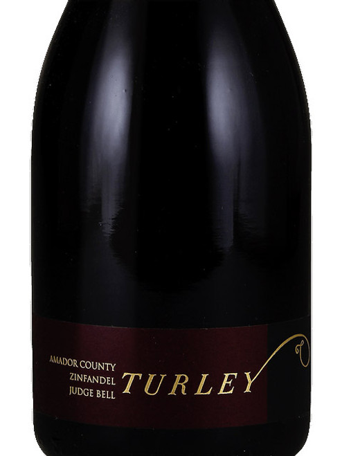 Turley Zinfandel Amador Judge Bell Vineyard 2018