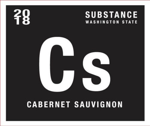 Wines of Substance Cabernet Sauvignon Columbia Valley Substance 2018