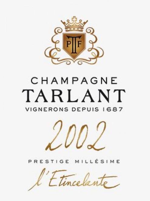 Tarlant Brut Prestige Champagne l'Etincelante 2002