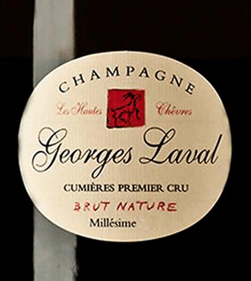 Laval/Georges Brut Nature Champagne Les Hautes Chêvres 2014