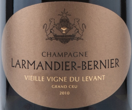 Larmandier-Bernier Extra Brut Blanc de Blancs Champagne Levant VV 2010