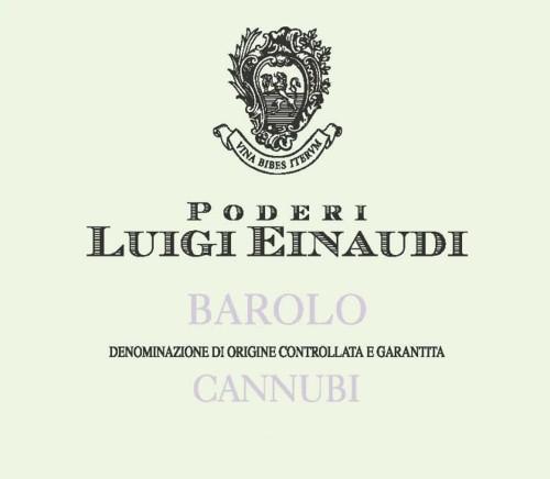 Einaudi Barolo Cannubi 2016