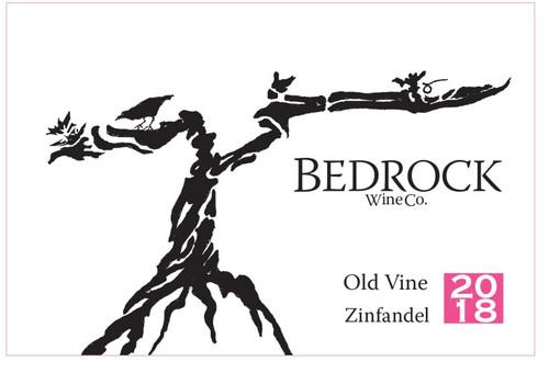 Bedrock Zinfandel California Old Vine 2018