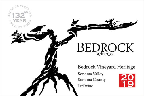 Bedrock Heritage Sonoma Valley The Bedrock Vineyard 2019