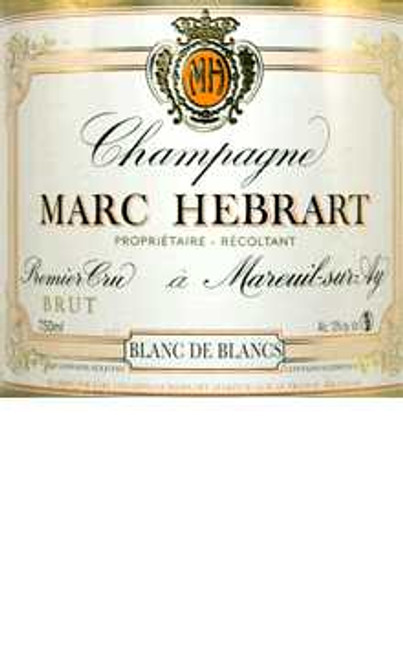 Hébrart Brut Blanc de Blancs Champagne Premier Cru NV