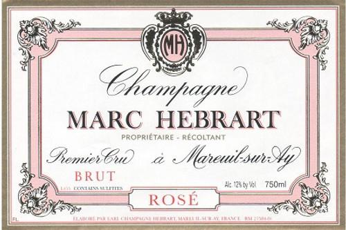 Hébrart Brut Rosé Champagne 1er cru NV