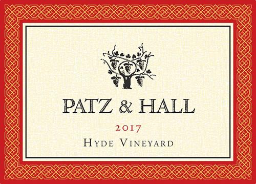 Patz & Hall Pinot Noir Carneros Hyde Vineyard 2017