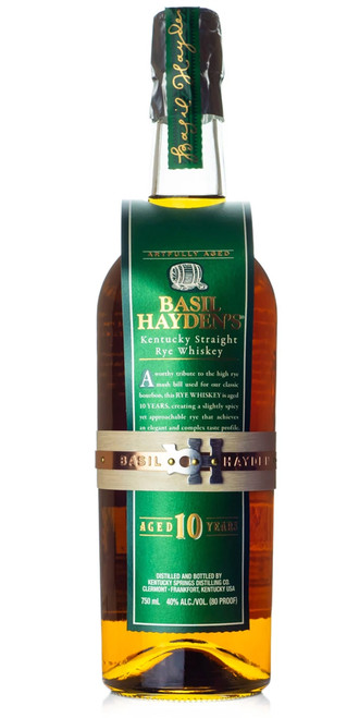 Basil Hayden Rye Whiskey 10 Year Old