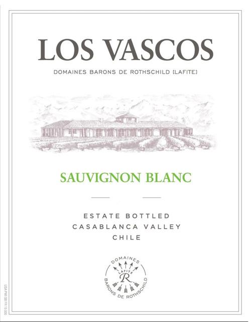Los Vascos (Lafite) Sauvignon Blanc Colchagua 2019