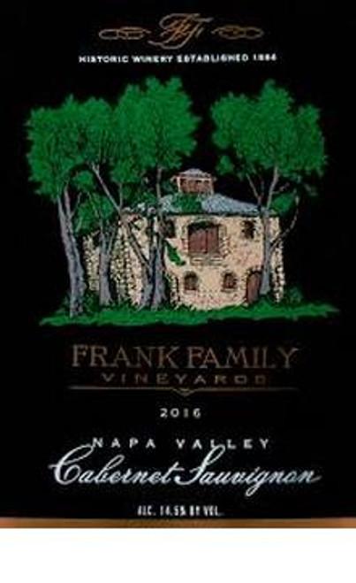 Frank Family Cabernet Sauvignon Napa Valley 2016