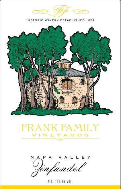 Frank Family Zinfandel Napa Valley 2017