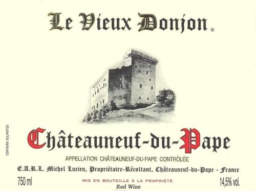 Vieux Donjon Châteauneuf-du-Pape 2018