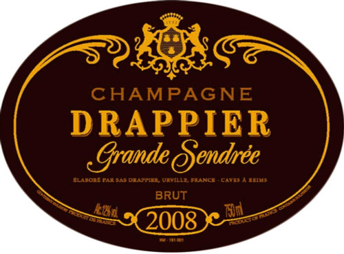 Drappier Brut Champagne Grande Sendrée 2008 1.5L
