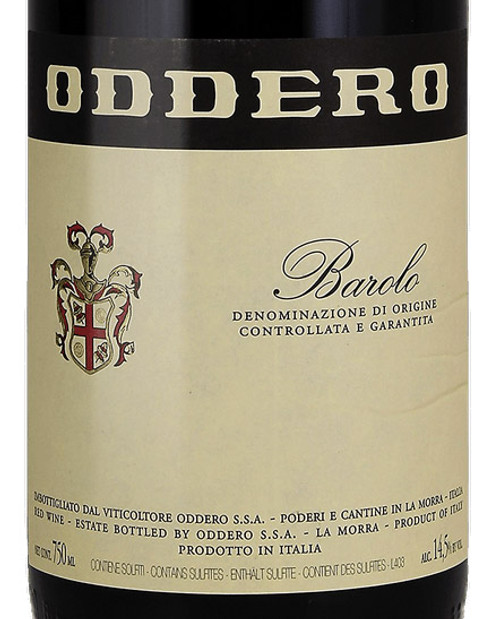 Oddero Barolo 2015 375ml