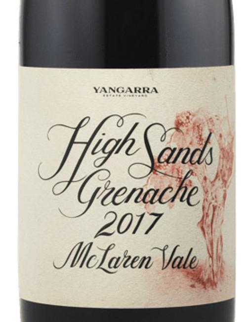 Yangarra Grenache McLaren Vale High Sands 2017
