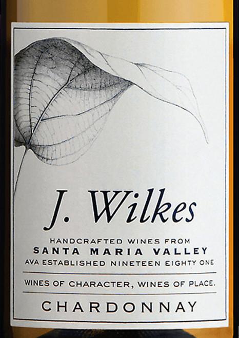 J. Wilkes Chardonnay Santa Maria Valley 2018