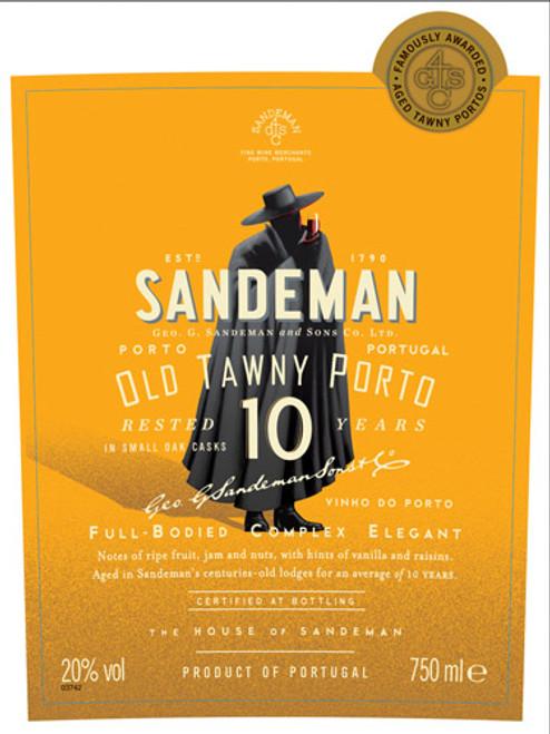 Sandeman Tawny Port 10-Year NV