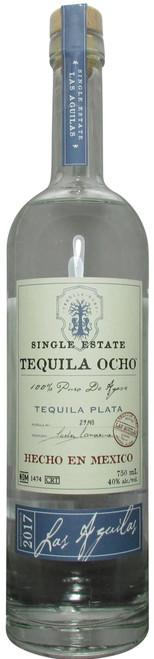 Ocho Single Estate Plata Tequila Las Aguilas (2017)