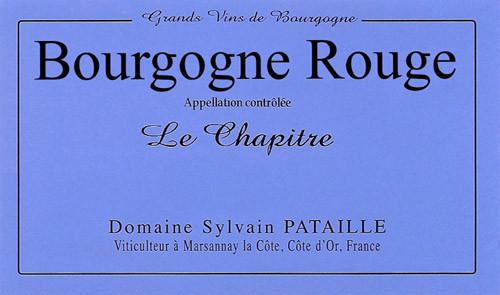 Pataille/Sylvain Bourgogne Le Chapitre 2018