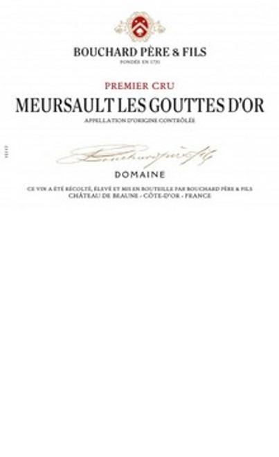 Bouchard Meursault 1er cru Gouttes d'Or 2017