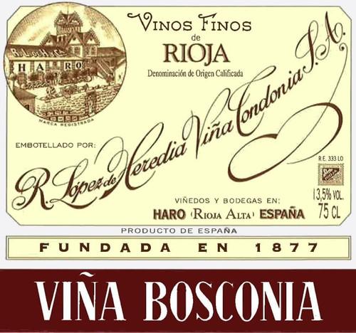 López de Heredia Rioja Viña Bosconia Reserva 2008