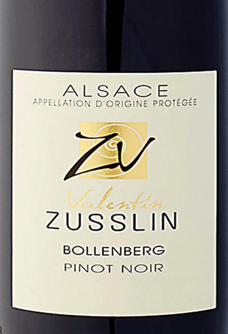 Valentin Zusslin Pinot Noir Alsace Bollenberg 2018