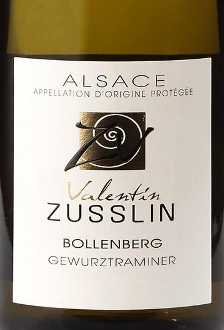 Valentin Zusslin Gewürztraminer Alsace Bollenberg 2018