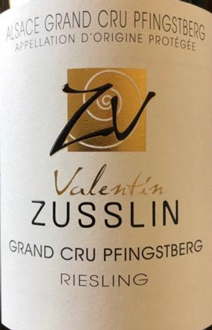 Valentin Zusslin Riesling Alsace Grand Cru Pfingstberg 2015