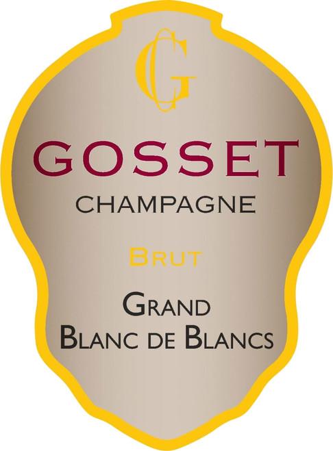 Gosset Brut Grand Blanc de Blancs Champagne NV