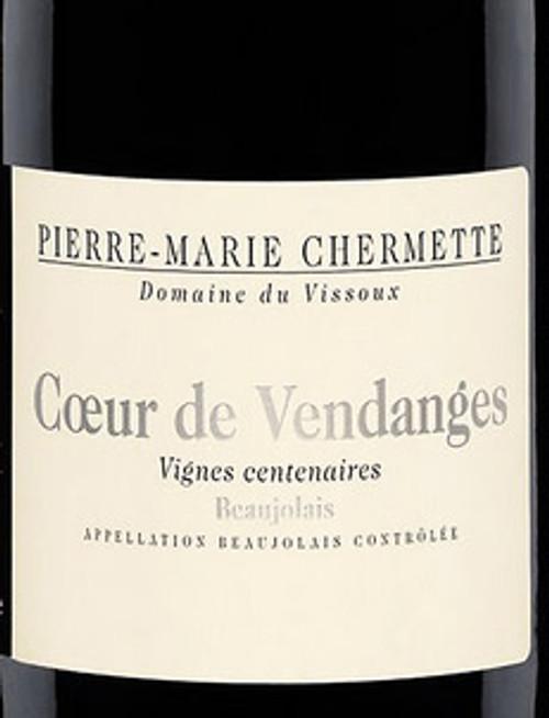 Vissoux Beaujolais Coeur de Vendanges Vignes Centenaires 2019
