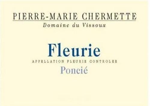 Vissoux (Chermette) Fleurie Poncié 2019 1.5L