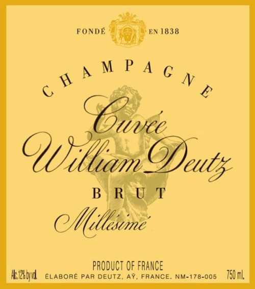 Deutz Brut Champagne Cuvée William Deutz 2008