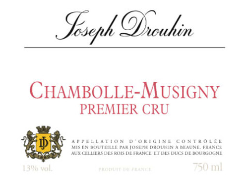 Drouhin/Joseph Chambolle-Musigny 1er Cru 2018