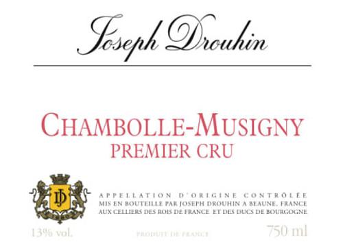 Drouhin/Joseph Chambolle-Musigny 1er Cru 2018 1.5L