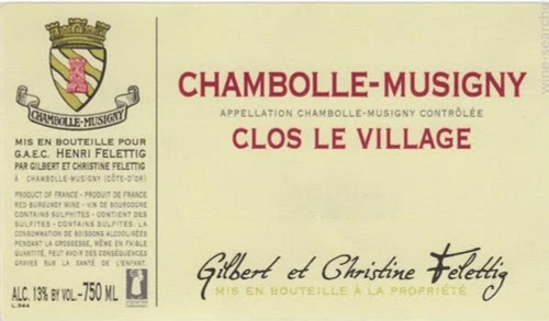 "Felettig Chambolle-Musigny ""Clos le Village"" 2017 1.5L"