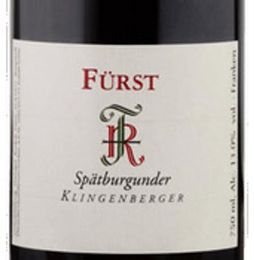 Fürst/Rudolf Spätburgunder Klingenberger 2018