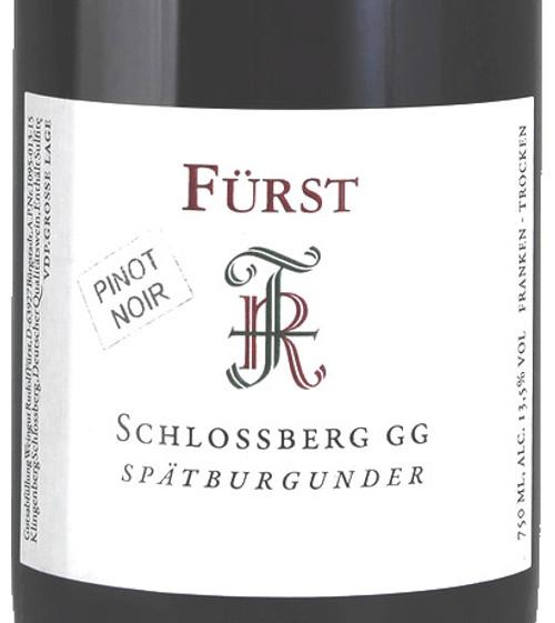 Fürst/Rudolf Spätburgunder Schlossberg GG 2018