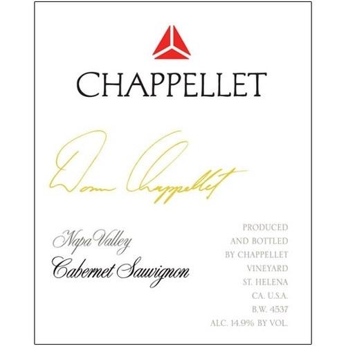 Chappellet Cabernet Sauvignon Napa Valley Signature 2018