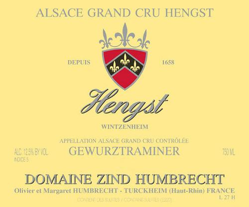 Zind-Humbrecht Gewürztraminer Alsace Grand Cru Hengst 2018