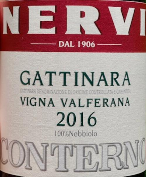 Nervi-Conterno Gattinara Vigna Valferana 2016