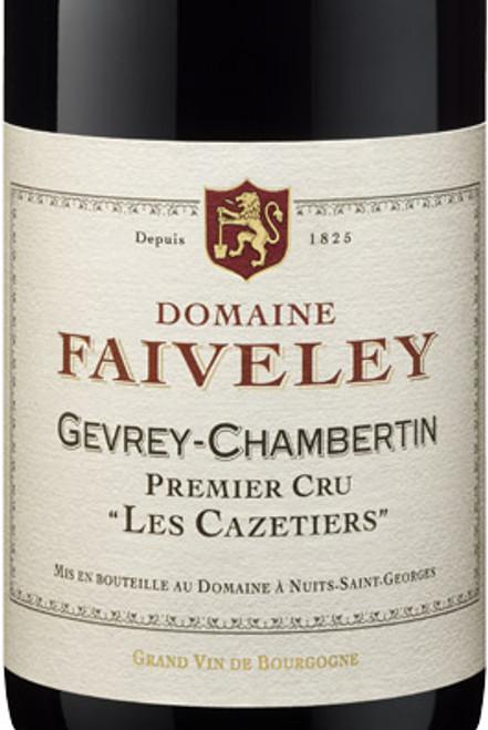 Faiveley Gevrey-Chambertin 1er cru Les Cazetiers 2018