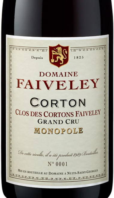 Faiveley Corton-Clos des Cortons 2018
