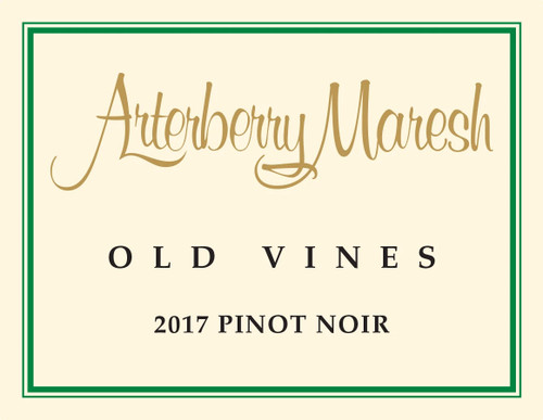 Arterberry Maresh Pinot Noir Dundee Hills Old Vines 2017