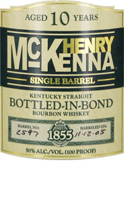 Henry McKenna 10 Year Old KSBW Bottled in Bond